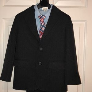 Boys size 6 Nautica 4 piece suit
